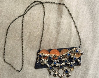 hand-made coin necklace