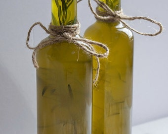 FREE SHIPPING Unique Wedding Gift, Rosemary Infused Organic Extra Virgin Olive Oil, Premium Extra Virgin Olive Oil from our organic grove