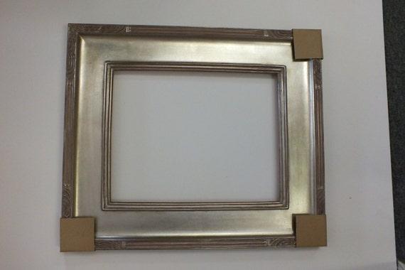 11 x 14 20 x 24 silver leaf picture frame ornate custom from agesartframe on etsy studio. Black Bedroom Furniture Sets. Home Design Ideas