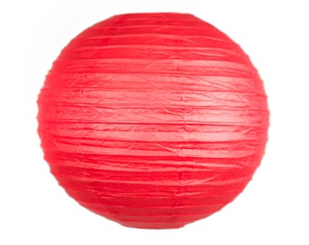 10 inch/25cm Red Lantern for Weddings, Engagements, Parties, Celebrations etc
