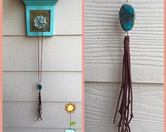 Cowgirl Fringe Necklace