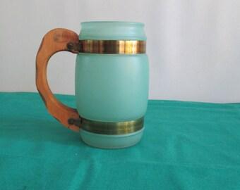 Vintage Siesta Ware Teal Cup