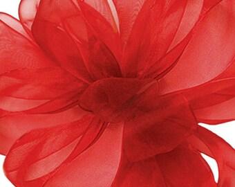 Red Sheer Ribbon     (10-##-S-008)