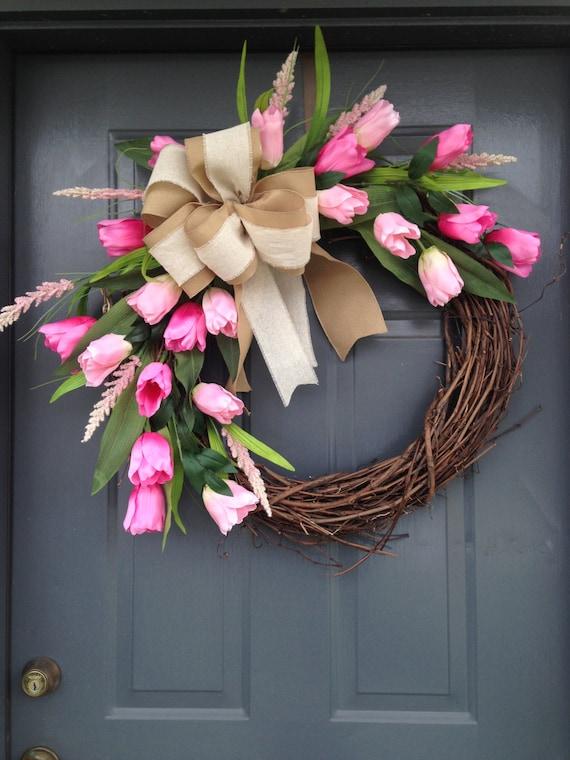 Diy Wreaths For Front Door Burlap