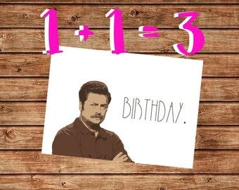 Printable Happy Birthday Parks and Rec Leslie Knope Birthday
