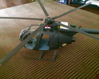 HUGE 1/6 scale 21st century toys helicopter.