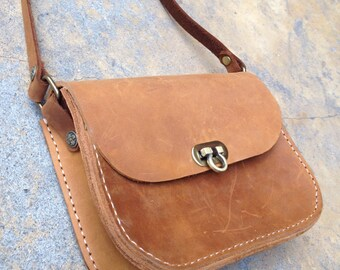 Handmade Nubuck Leather Purse for Women