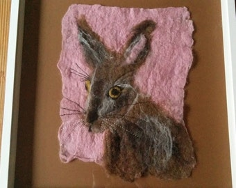 Felted hare