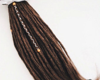 Single Ended or Double Ended Crochet Synthetic Dreads