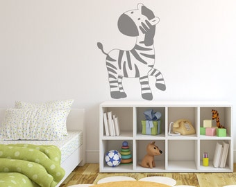 Charmant Zebra Wall Decal