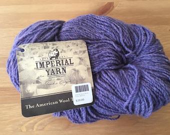 Imperial Yarn Tracie Sport Weight, Wild Iris yarn, Made In Oregon