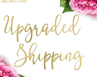 Upgraded Shipping - Priority Flat Rate