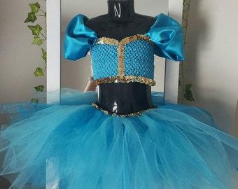 Princess jasmine tutu dress