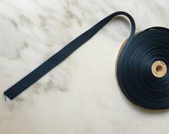 """5/8"""" Grosgrain Ribbon in Prussian Blue"""