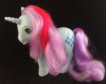 My Little Pony Mon Petit Poney MLP Sparkler G1 Italy 1984