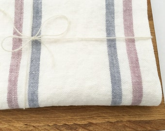 Natural organic linen kitchen towel - linen dish cloth - natural linen hand towel