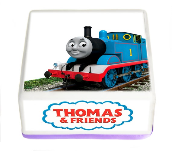 7 5 Hd Thomas The Tank Engine Edible Square By