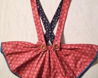 MEDIUM reversible girls circle skirt
