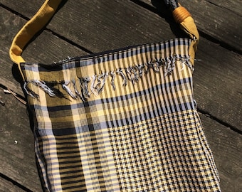 Purse from repurposed scarf