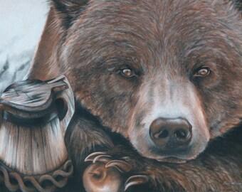This Bear (original drawing)