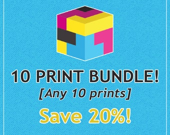 Buyers Choice 10-Pack // Any 10 Prints // Save 20%!!