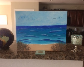 Acrylic Painting on Canvas (16x20) FREE SHIPPING