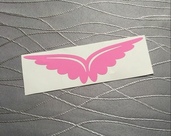 Wings, Butterfly, Vinyl, Decal
