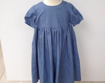 Blue Star Empire line dress