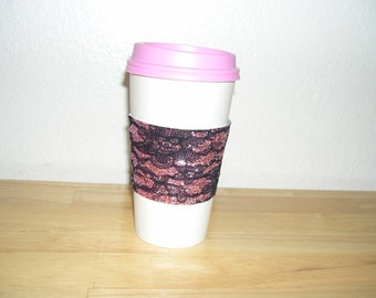 Coffee cup cozy java jewelry