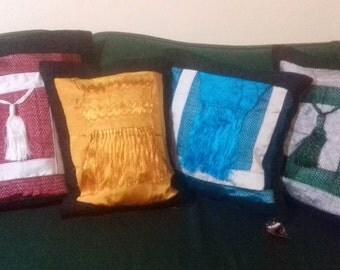 Silk and Linen Pillow Shams