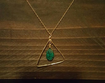 Deep Sea Geometry Necklace