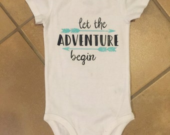 Let the Adventure begin Onesie!