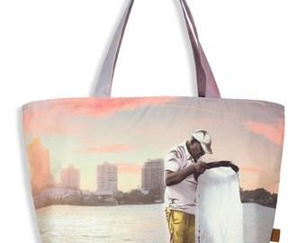 "Tote Bag (Large) ""Pescador"""