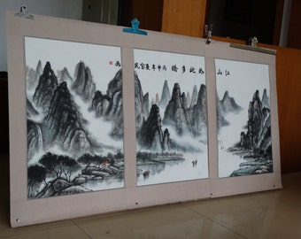 customized Chinese traditional ink paintings