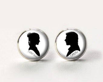 I love you I know ,Charm Earrings