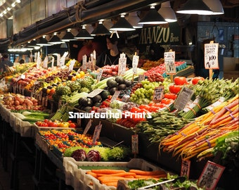 Pike's Place Market Vegetable Stand - Ships Free