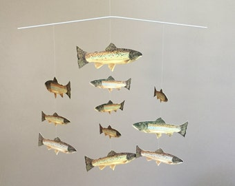 Brown Trout Mobile (11 fish)