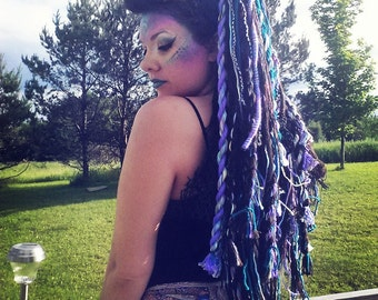 Yarn Hair Fall Extensions