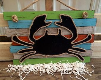 Beachy Crab Decor
