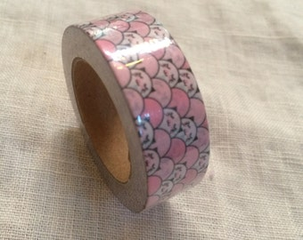 Pink and Black Panda Washi tape