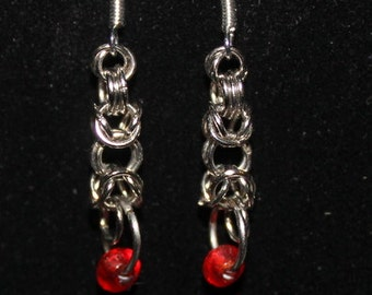 Trizantine Chainmaille Earrings
