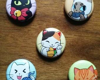 Kitten Button Pack