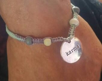 Karma Hemp Bracelet