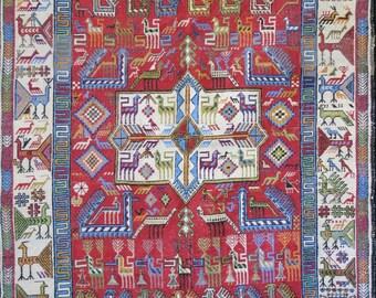 Azerbaijan Sumak kilim - rug