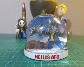 Fallout Snow Globe Nellis AFB