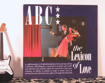 ABC - The Lexicon of Love, vintage LP