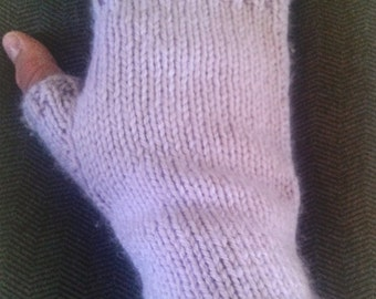 Simple Fingerless Gloves