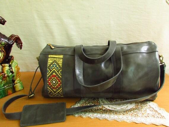 pull up leather bag, distressed duffle bag, men carryall bag, weekender leather bag, satchel bag, travel bag, men travel bag