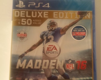 NFL PS4 Madden 16 Deluxe Edition