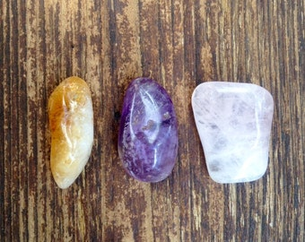 The Love Pack (Amtheyst, Citrine & Rose Quartz)